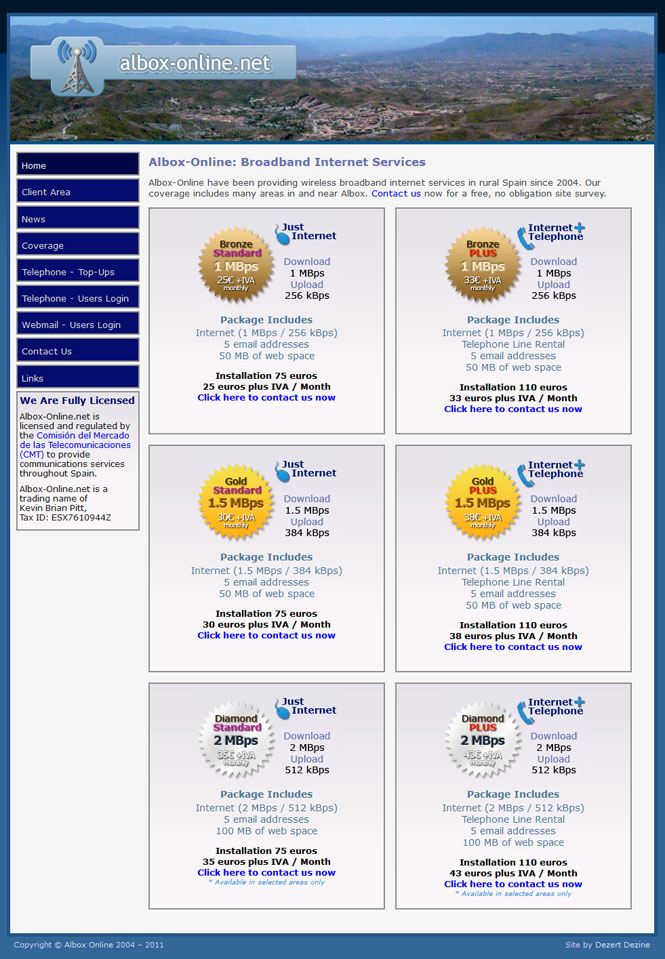 Albox Online website