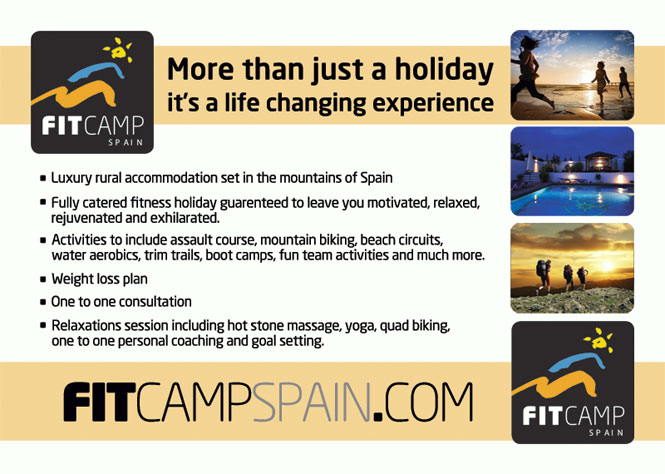 Fit Camp Spain - Flyer