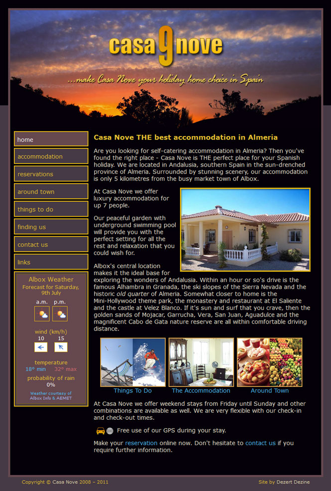 Casa Nove website