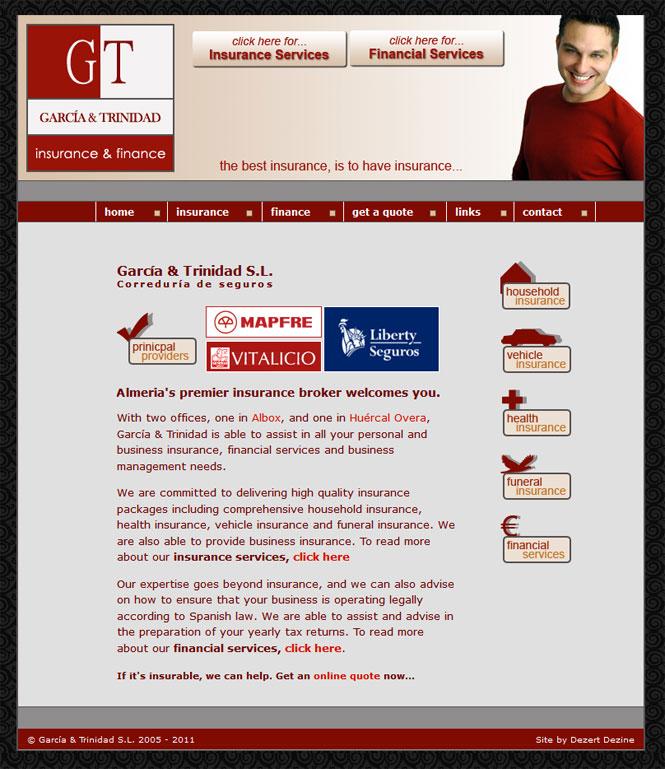 Garcia and Trinidad website