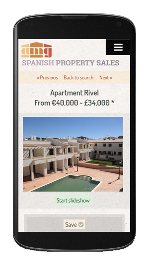 AMG Spanish Property Sales - Mobile